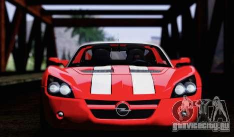 Opel Speedster Turbo 2004 для GTA San Andreas вид сбоку