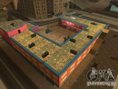 Новые текстуры отеля Jefferson для GTA San Andreas восьмой скриншот