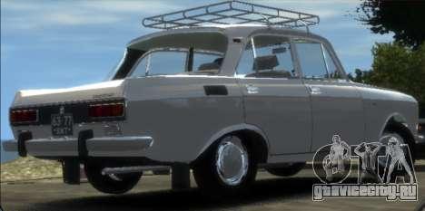 АЗЛК 2140 1976 для GTA 4 вид слева