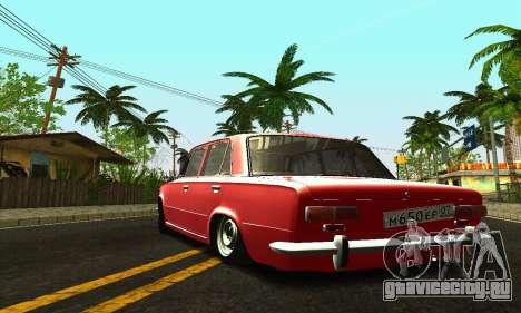 ВАЗ 2101 БПАН для GTA San Andreas вид сверху