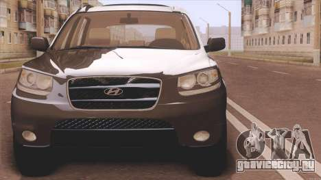 Hyundai Santa Fe для GTA San Andreas вид сзади слева