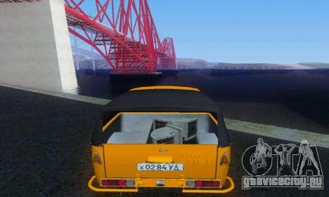 ИЖ Шиньон для GTA San Andreas вид справа