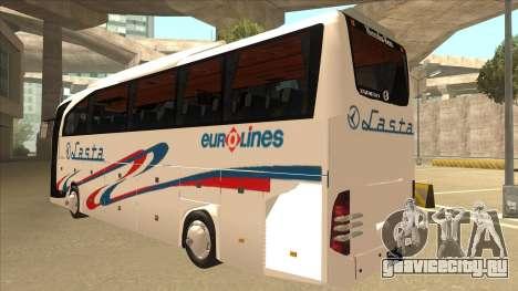 Mercedes-Benz Lasta Bus для GTA San Andreas вид сзади