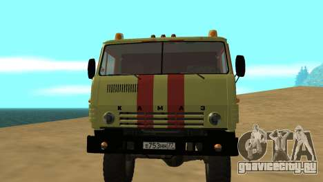 КамаЗ 4310 Аварийка для GTA San Andreas вид слева