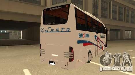 Mercedes-Benz Lasta Bus для GTA San Andreas вид справа