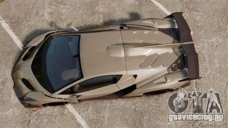 Lamborghini Veneno для GTA 4 вид справа