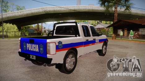 Ford Ranger 2011 Province of Buenos Aires Police для GTA San Andreas вид справа