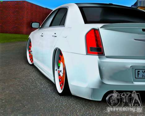 Chrysler 300C SRT-8 MANSORY_CLUB для GTA San Andreas вид сзади