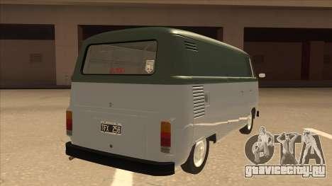 VW T2 Van для GTA San Andreas вид справа