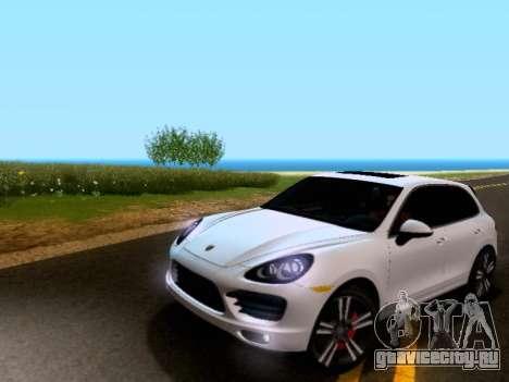 Porsche Cayenne Turbo S 2013 V1.0 для GTA San Andreas вид слева