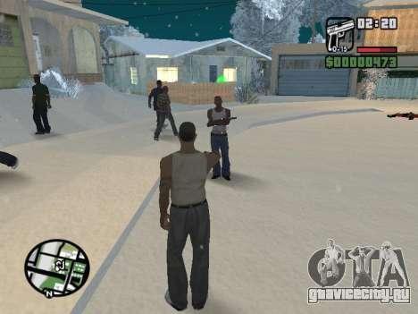Переключение между героями как в GTA V для GTA San Andreas шестой скриншот
