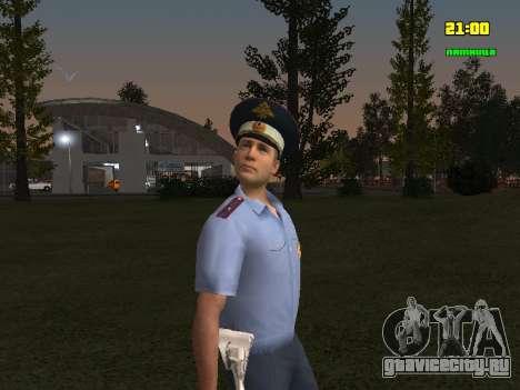 Сотрудник ДПС для GTA San Andreas второй скриншот
