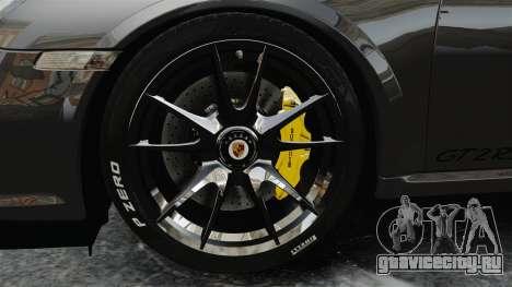 Porsche 997 GT2 2012 Simple version для GTA 4 вид сзади