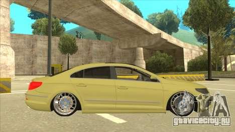 VW Passat CC для GTA San Andreas вид сзади слева