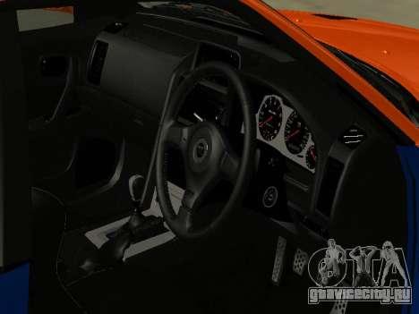 Nissan Skyline R-34 для GTA San Andreas вид сбоку