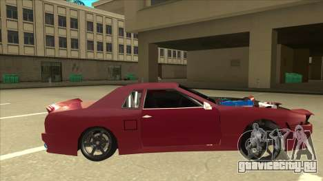Elegy Drift для GTA San Andreas вид сзади слева