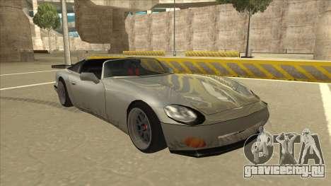Banshee Stance для GTA San Andreas вид слева