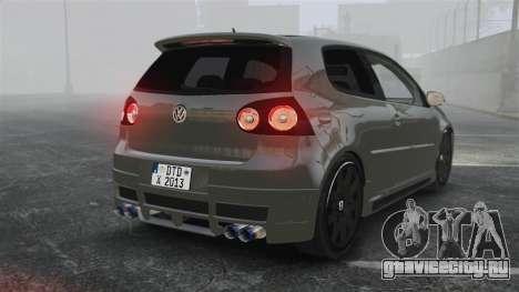 Volkswagen Golf GTi DT-Designs для GTA 4 вид сзади слева