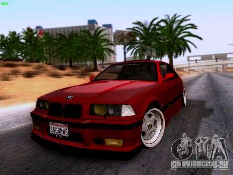 BMW M3 E36 Stance для GTA San Andreas вид справа