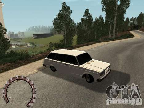 ВАЗ 2104 для GTA San Andreas вид слева