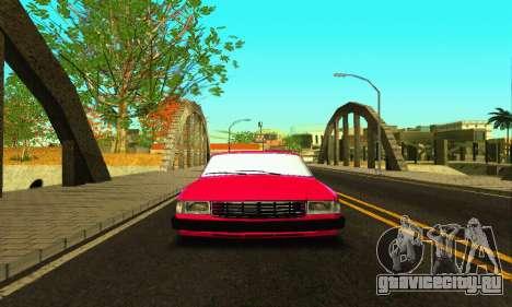 ГАЗ 31029 Волга БПАН для GTA San Andreas вид изнутри
