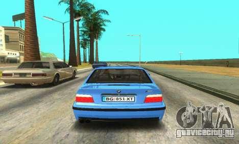 BMW M3 (E36) для GTA San Andreas вид справа