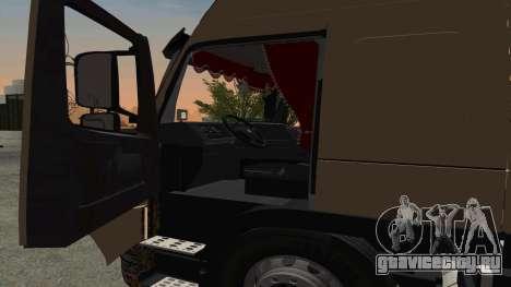 Volvo FM16 для GTA San Andreas вид сзади