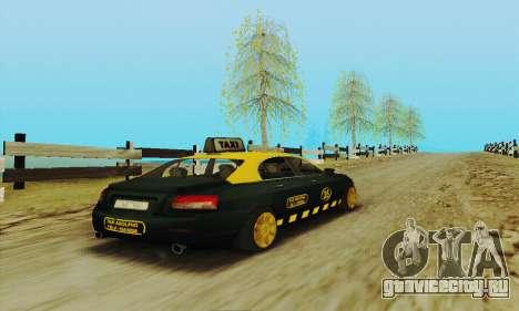 Mercenaries 2 Такси для GTA San Andreas вид изнутри