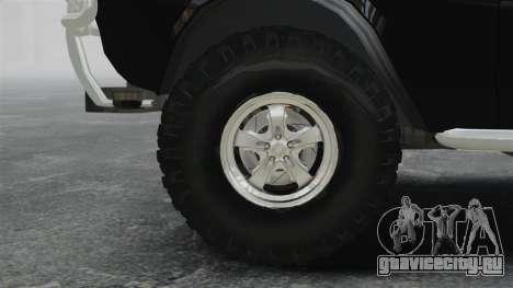 ГАЗ-2402 4x4 Пикап для GTA 4 вид сзади