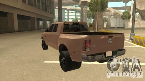 Dodge Ram [Johan] для GTA San Andreas вид сзади