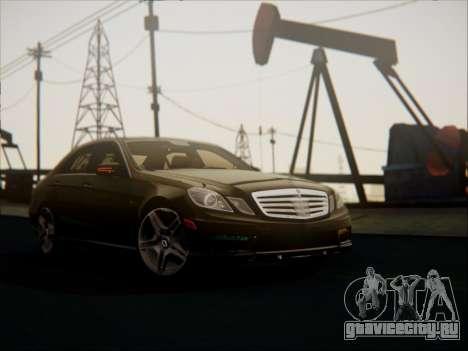 Mercedes-Benz E63 AMG 2010 для GTA San Andreas