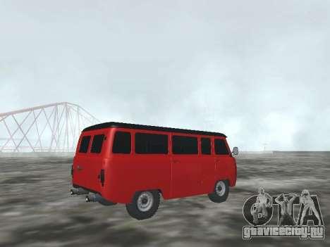 УАЗ 22069 для GTA San Andreas вид справа
