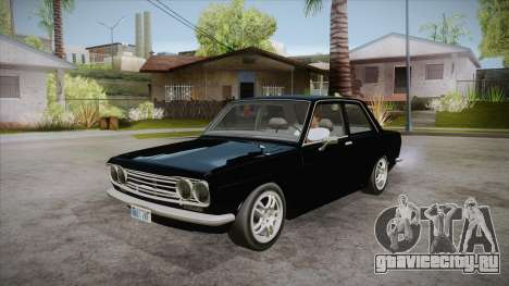 Datsun 510 RB26DETT Black Revel для GTA San Andreas