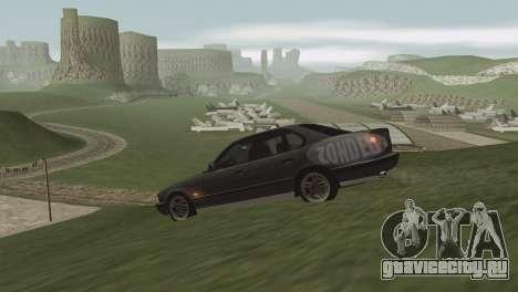 Трава в Лас Вентурасе. для GTA San Andreas