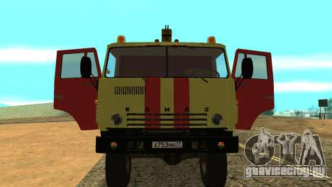 Камаз 43114 Эвакуатор для GTA San Andreas вид сзади