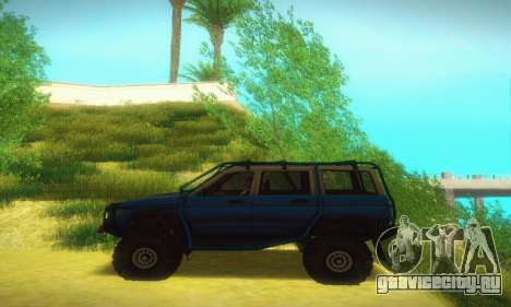 УАЗ Патриот для GTA San Andreas вид сзади слева