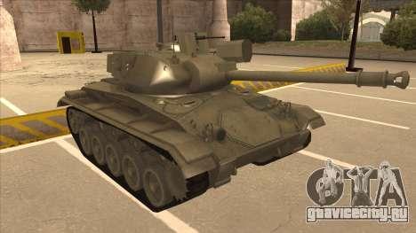 M41A3 Walker Bulldog для GTA San Andreas вид слева