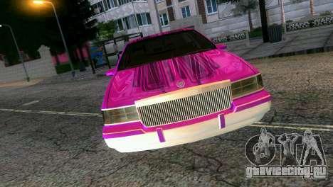 Cadillac Fleetwood Coupe для GTA Vice City вид справа