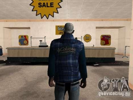 Новая куртка CJ для GTA San Andreas