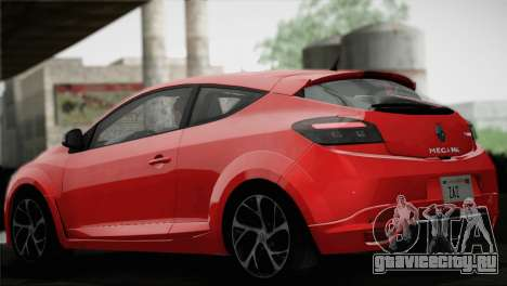Renault Megane RS Tunable для GTA San Andreas колёса