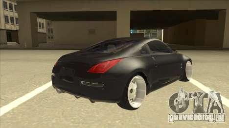 Nissan 350z SimpleDrift для GTA San Andreas вид справа