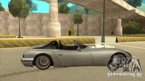 Banshee Stance для GTA San Andreas вид сзади слева