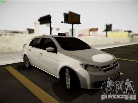 Volkswagen Voyage Taxi для GTA San Andreas