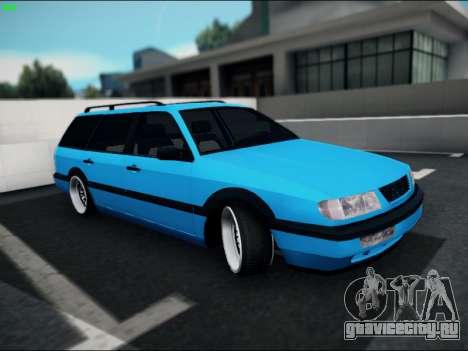 Volkswagen Passat Caravan 1993 Avant Style для GTA San Andreas