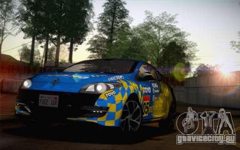 Renault Megane RS Tunable для GTA San Andreas вид сбоку