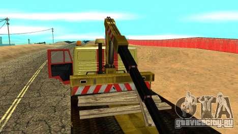 Камаз 43114 Эвакуатор для GTA San Andreas вид сверху