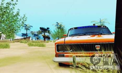 Москвич 2140 для GTA San Andreas вид сзади