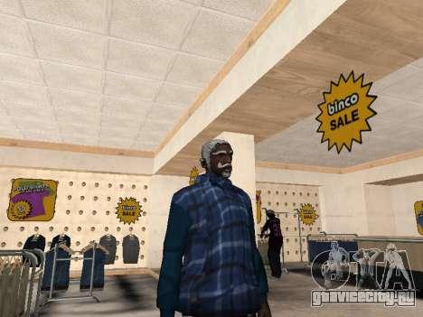 Новая куртка CJ для GTA San Andreas второй скриншот