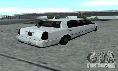 Stretch из GTA 5 для GTA San Andreas вид сзади слева