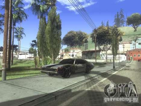 Clover Modified для GTA San Andreas вид сзади слева